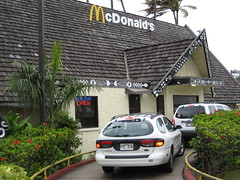 IMG_4300 (jdong) Tags: travel cars hawaii oahu fastfood restaurants mcdonalds northshore drivethru honolulu drivethrough
