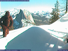 Half Dome Web Cam 3-13-09
