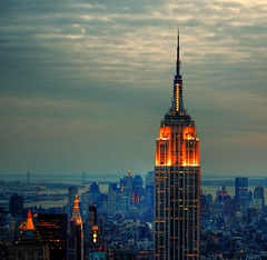 Empire State Building (Scott Hudson *) Tags: nyc usa ny newyork night t photography nikon