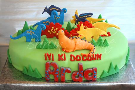 Dinosaur Cake Y
