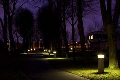 A way out (janslyn) Tags: longexposure light night purple path explore explored