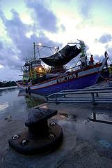 Boat at Tok Bali (Pa Alisya's Gallery) Tags: boat malaysia kelantan tokbali