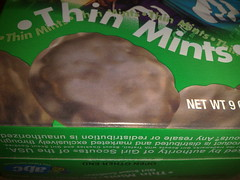 Girl Scouts Thin Mints