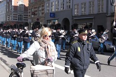 Marching Band in Copenhagen 17 March