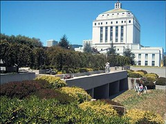 a green roof at the Oakland Museum (via US EPA)