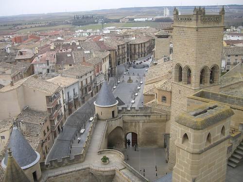 Castillo Olite fuera