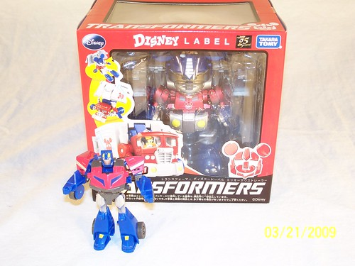 Transformers Mickey Mouse Takara Disney