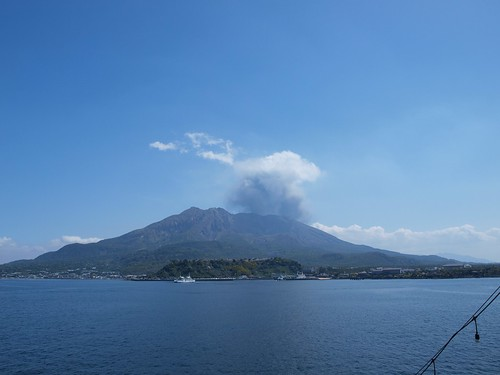 噴火 風向き 桜島