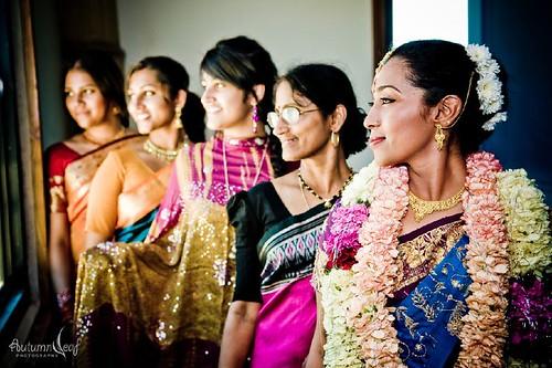 Sankari and Jeff - 4 Ladies and the Bride