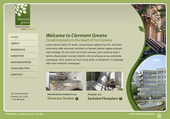 Clermont Greene - home (Cristian Bosch) Tags: screenshots webdesign template mockups webtemplate mockdesign webcomps