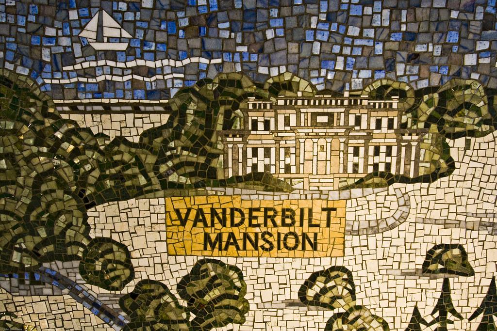 Floor Tile Mosaic, FDR Museum