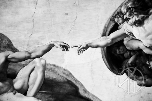 The Creation of Adam II by Justin Korn