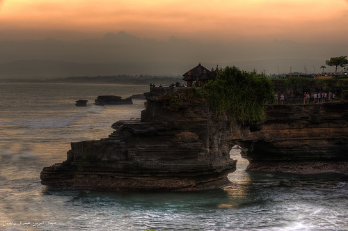 Sunset at Tanah Lot - HDR version