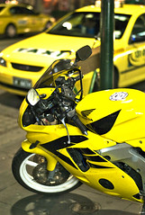 Mellow F'n Yellow (PeinLee) Tags: leica winter yellow delete10 honda delete9 delete5 delete2 delete6 availablelight delete7 taxi streetphotography photojournalism australia melbourne delete8 delete3 delete delete4 motorbike m8 motorcycle delete11 asph save1 reportage summilux5014