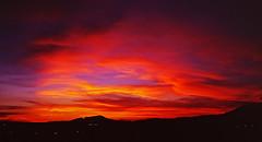 fire sky (joart) Tags: light red sky cloud clouds zeiss 35mm t fire iso100 taiwan snap contax carl fujifilm taipei t3 2009 f28 sonnar rvp100