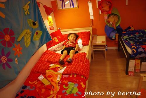 Ikea的兒童床