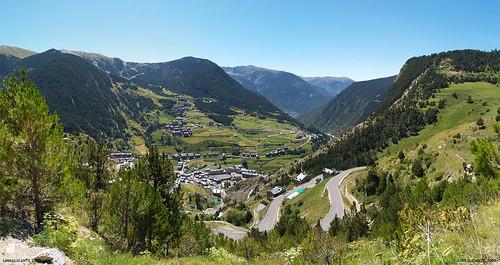 Canillo desde Coll d'Ordino