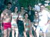 con gli amici al mare