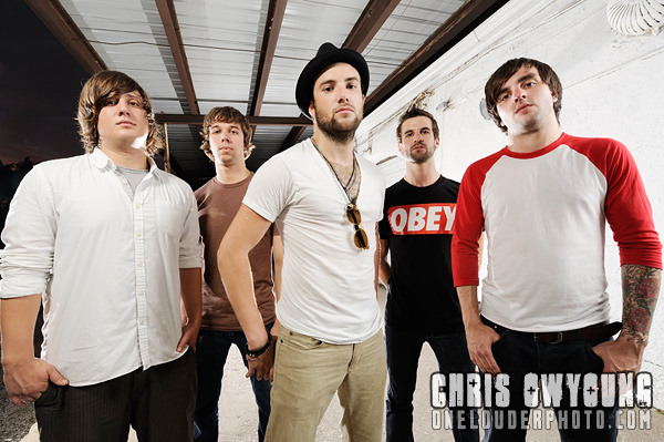 August Burns Red - Band Portrait