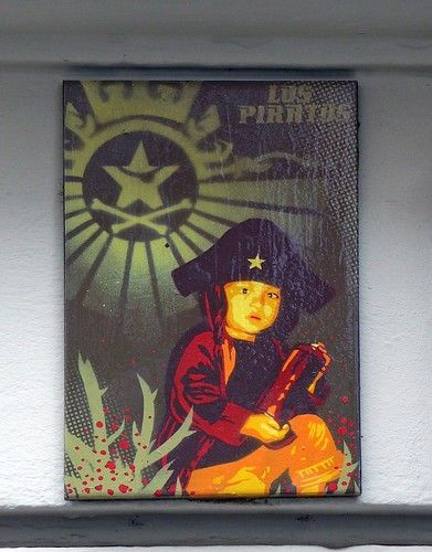 pirate canvas stencil