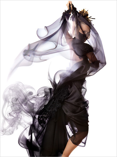 Anime Umbrella Portrait - Smoke Series / Ethan T. Allen