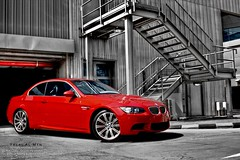 BMW M3 (Talal Al-Mtn) Tags: road street blue red sun cars car sedan canon silver photography eos rebel automobile power shot d gray engine twin m turbo bmw kuwait m3 rims m5 twinturbo v8 exhaust xsi q8 mpower kwt automative bmwm3 somke auotmatic xti 450d redbmw canon450d inkuwait theotherhand talalalmtn  bytalalalmtn the2009bmwm3convertibleisequippedwithastandard40liter 414horsepowerenginethatachieves13mpginthecityand20mpgonthehighway the2009bmwm3sedanisequippedwithastandard40liter 414horsepowerenginethroughthisengine2009bmwm3sedanachieves14mpginthecityand20mpgonthehighway