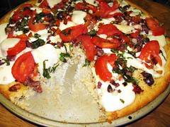 Gluten Free Uno Style Pizza with buttery crust! 3903769169_aa6e477633_m