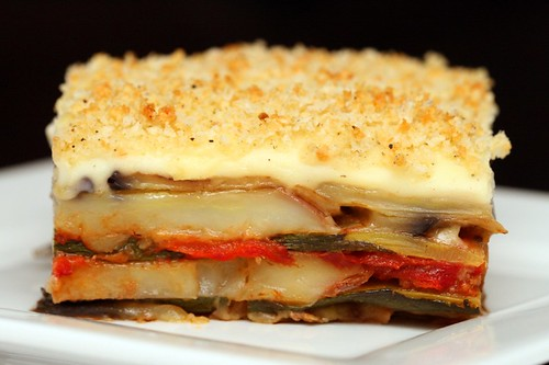 Grilled vegetable bake