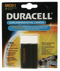 Duracell DRC511 Digital Camera Battery