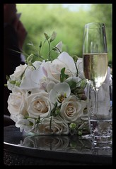Bridal Bouquet (mcamcamca) Tags: flowers wedding roses white champagne bouquet bridal bigmomma thechallengefactory
