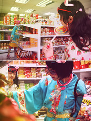 Patronato lovers (k.h y o) Tags: girls food color fashion japan candy market strawberries korea harajuku decora patronato