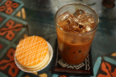 Vietnamese café (pinnee.) Tags: coffee café dessert cafe sweet drinks caphesuada caphe vietnamesecoffee coffeewithmilk càphê vietnamesecafe caphesua vietnamesecafé caphevietnam icecoffeewithmilk