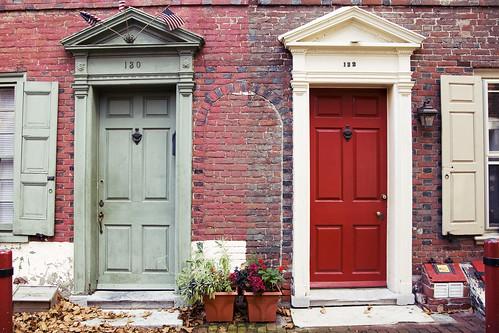 cute doors