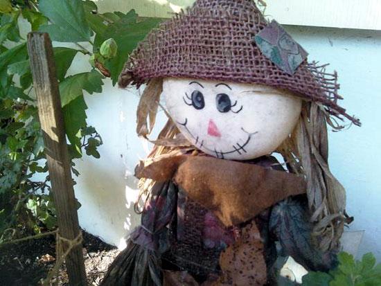 Garden Scarecrow (Click to enlarge)