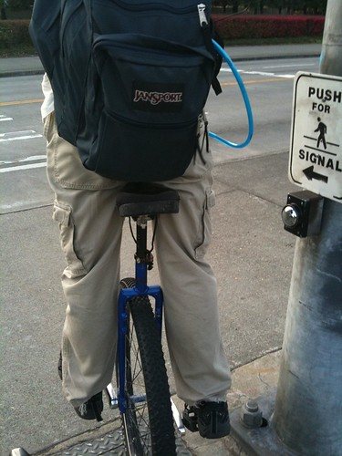 An Average Commute: Unicycle