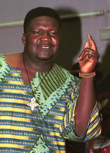 Lucius Banda & Zembani Band from Malawi at Kokonut Groove Club Hackney Wick London Feb 2000 002 Portrait