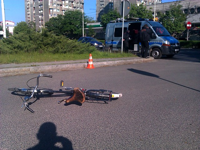 Bike accident, Wrocław, 9th May