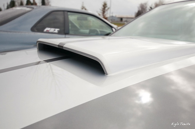 PSI custom hood scoop on GT500