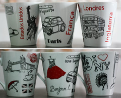 Projeto 365 • 147/365 (Mari Assmann) Tags: cup 50mm gift mug presente xícara project365 450d projeto365 canonxsi