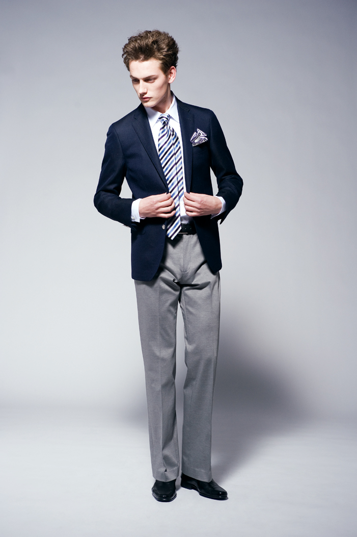 Jakob Hybholt0187_JOSEPH HOMME CLOTHING 2011 Spring-Summer Collection(Official)