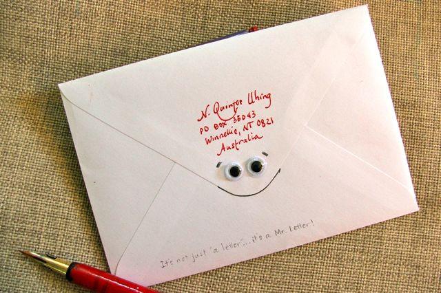 Mr. Letter