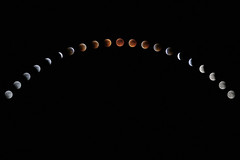 Lunar Eclipse (individual8) Tags: moon june eclipse timelapse cyprus course event celestial lunareclipse 2011