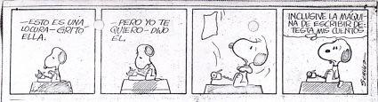 9a11 Declaración de amor de Snoopy