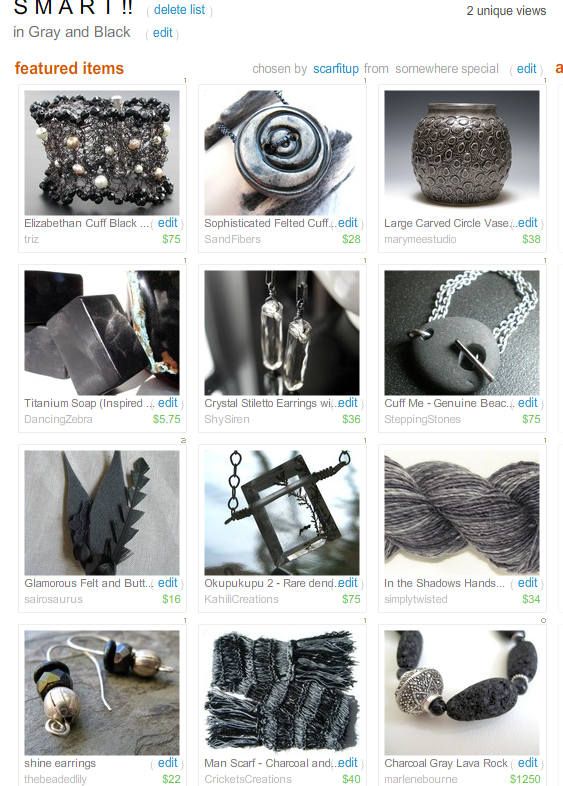S M A R T!! Treasury by Scarf It Up!