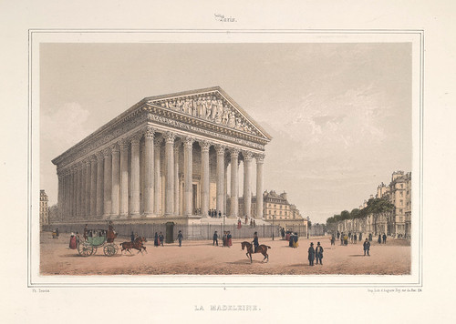 003- Paris- La Madeleine 1858