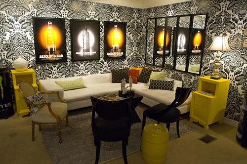 Interior design for lounge