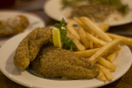 Fried catfish by Kent Wang, on Flickr
