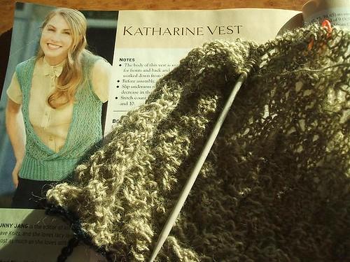 Katharine vest