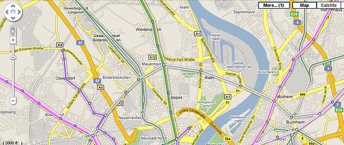 Google Transit Köln