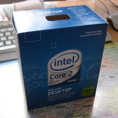 "Intel Core 2 Duo E8400 ""Wolfdale"""